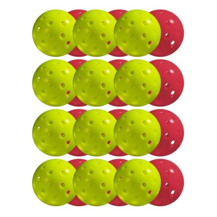 12 pcs Pickleballs - X-40 Outdoor